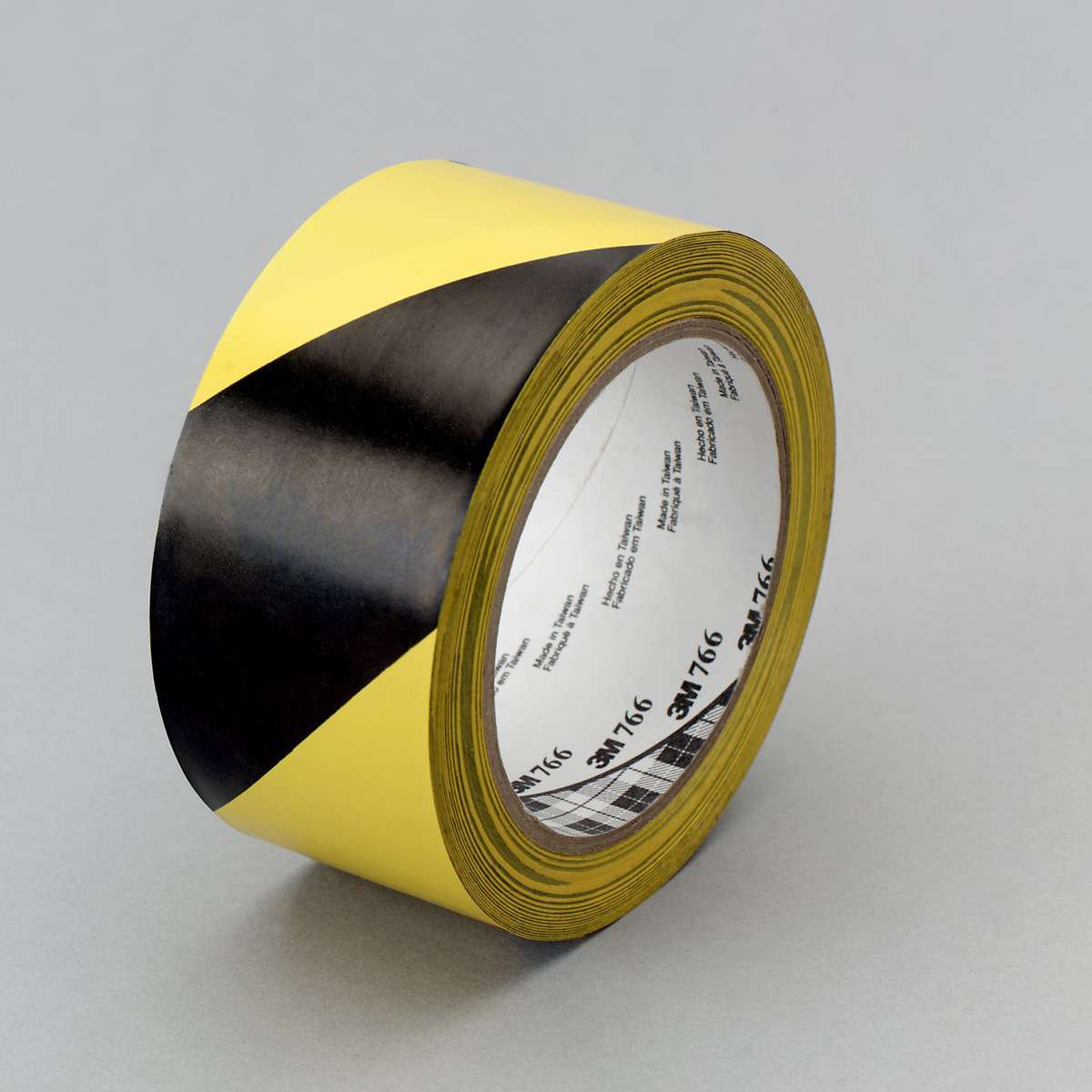 Marking tape 3M 766i, economy, 50mmx33m, yellow/black