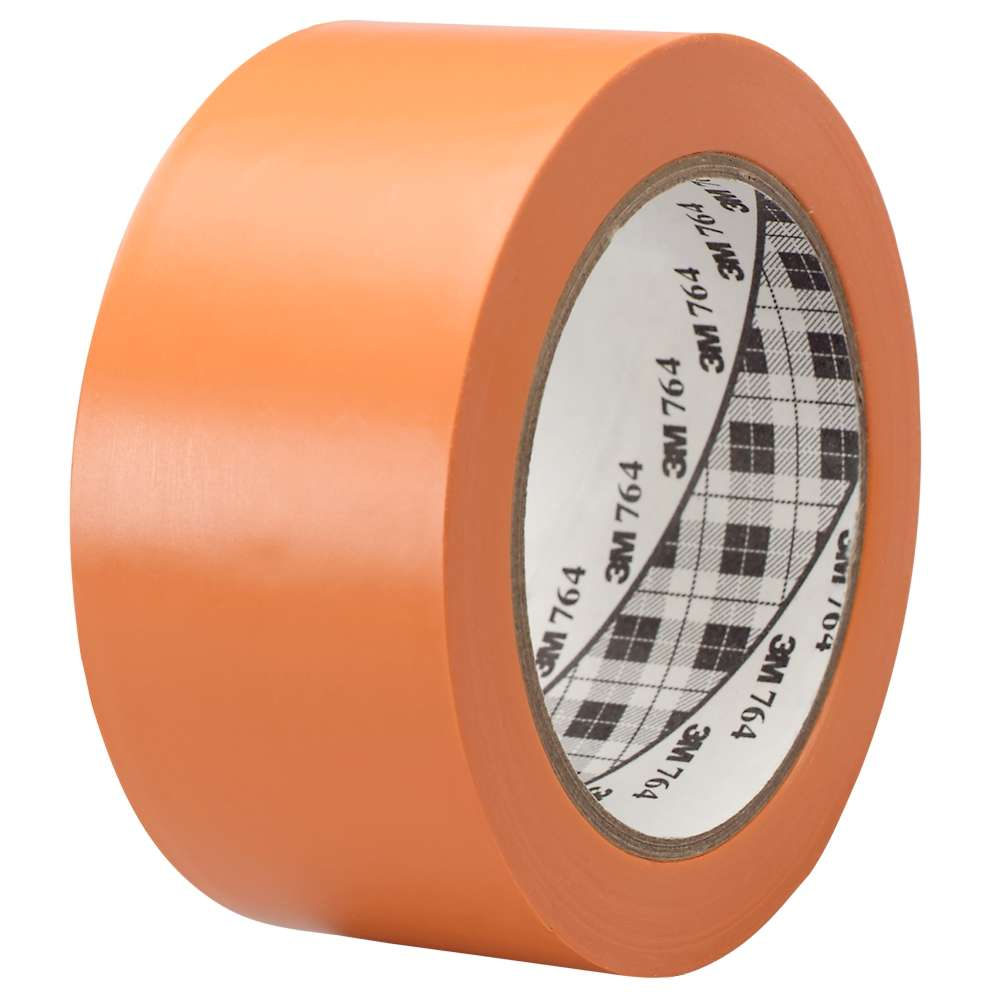 Marking tape 3M 764i, economy, 50mmx33m, orange
