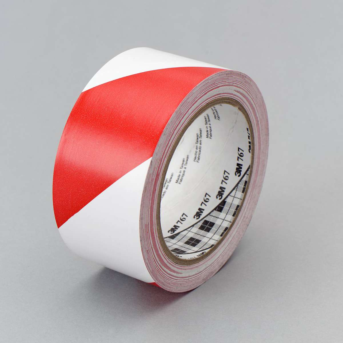 Marking tape 3M 767i, economy, 50mmx33m, red/white