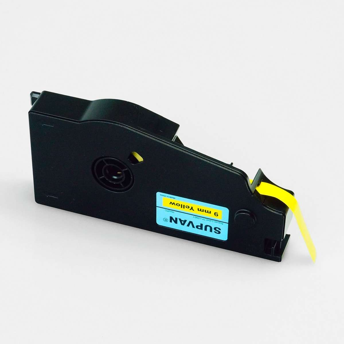 Label cassette tape (Yellow), 9mm*16m, for Supvan