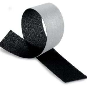 Reclosable fastener 3M Scotchmate SJ3000 Velcro hook-loop, without adhesive, black