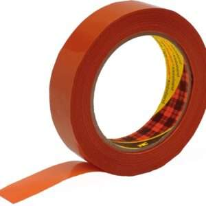 Packing tape 3M 3741 For binding, orange