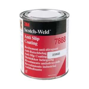Anti-slip coating 3M ScotchWeld 7888, dark grey, 1L.